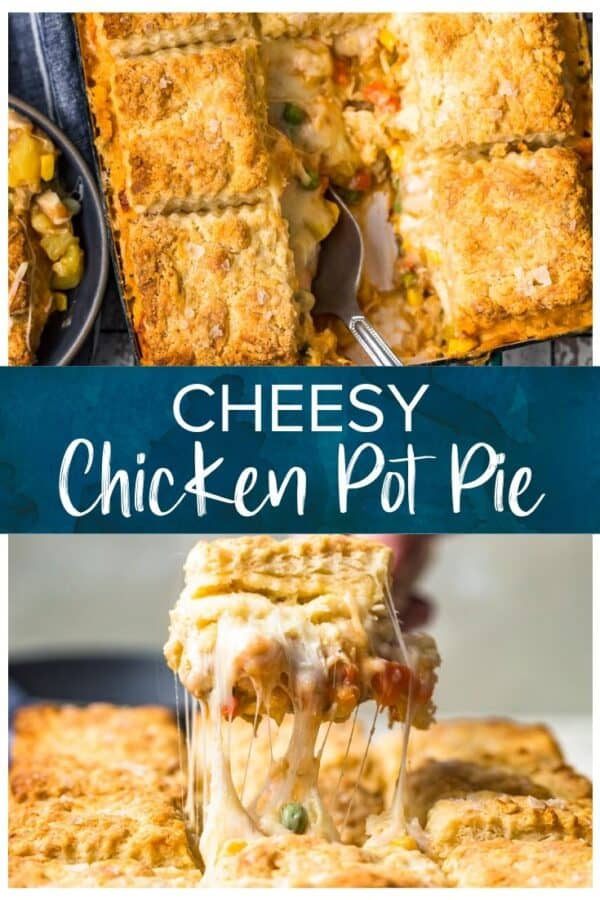 chicken pot pie pinterest image