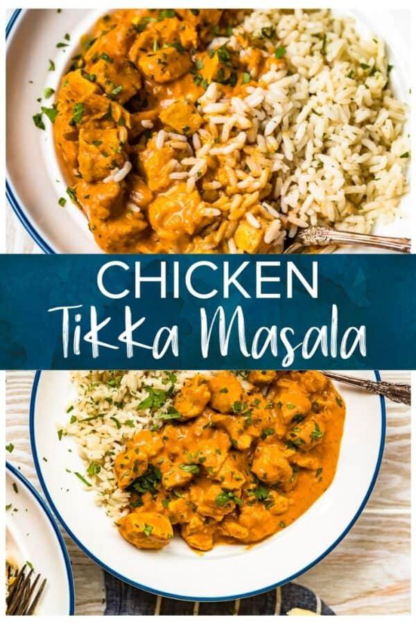 chicken tikka masala pinterest image