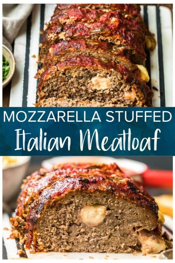 mozzarella stuffed meatloaf pinterest photo