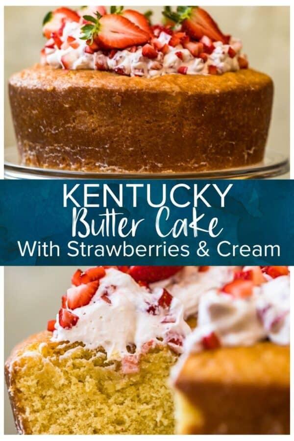 kentucky butter cake pinterest photo