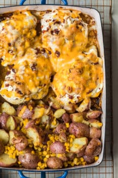 bacon crusted chicken featured image