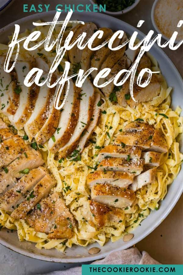 chicken alfredo pinterest image