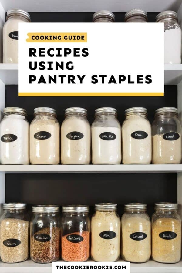 recipes with pantry staples