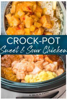 crockpot sweet and sour chicken pinterest