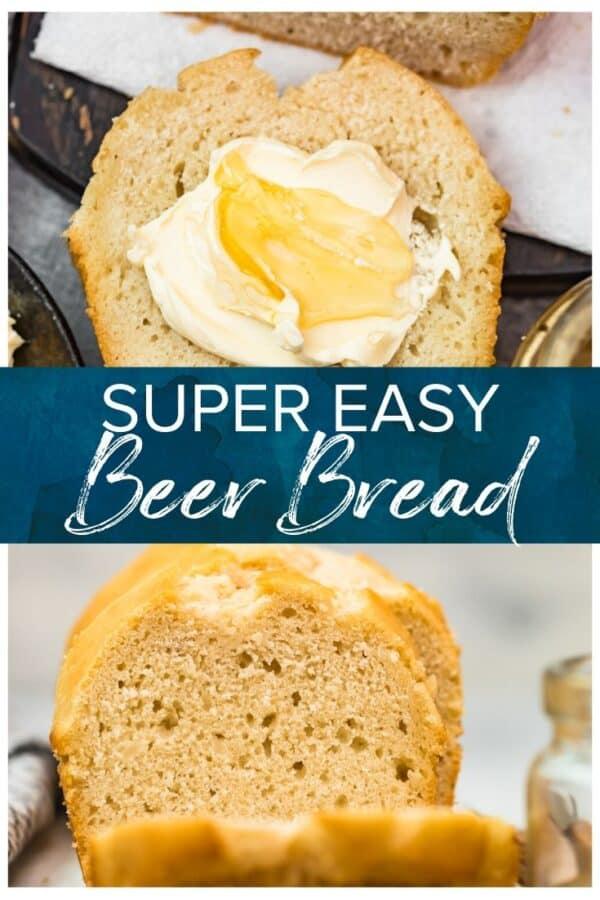 beer bread pinterest image