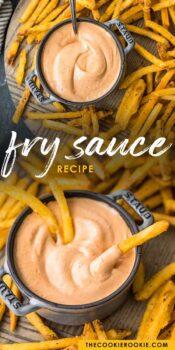 fry sauce pinterest collage
