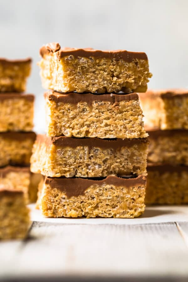stacked cereal bars