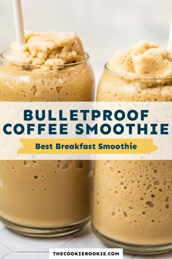 bulletproof coffee smoothie pinterest