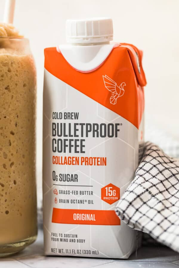 premade cold brew bulletproof coffee