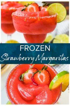 strawberry margaritas pinterest image