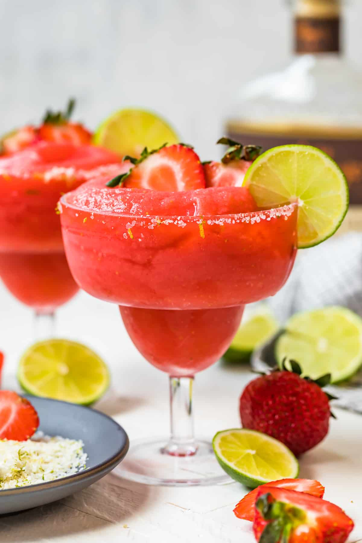Frozen Strawberry Margarita Recipe The Cookie Rookie