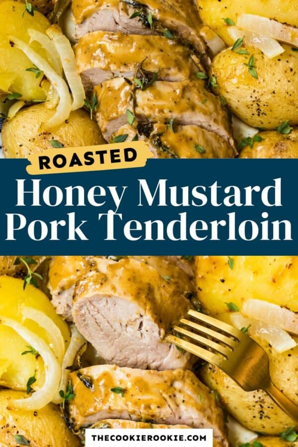 honey mustard pork tenderloin pinterest