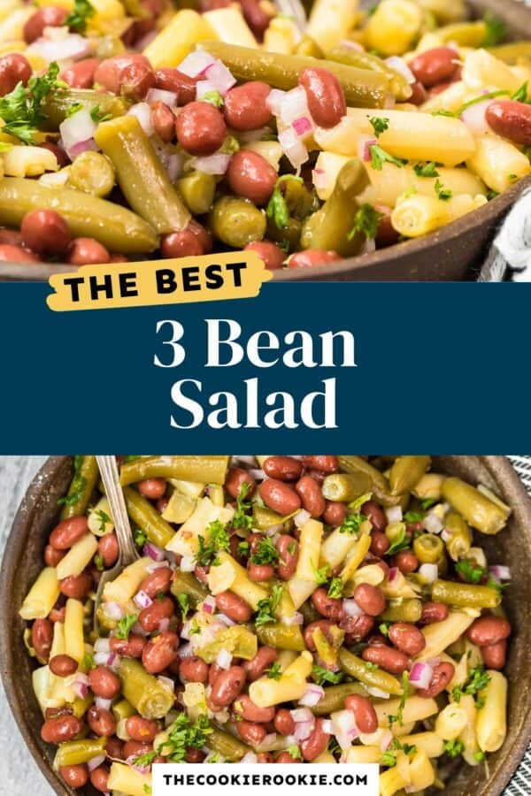 3 bean salad pinterest