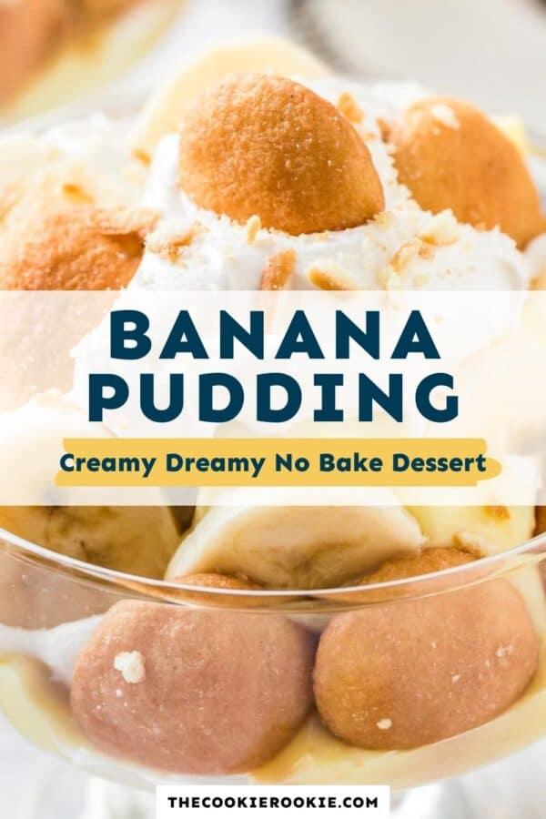 banana pudding pinterest