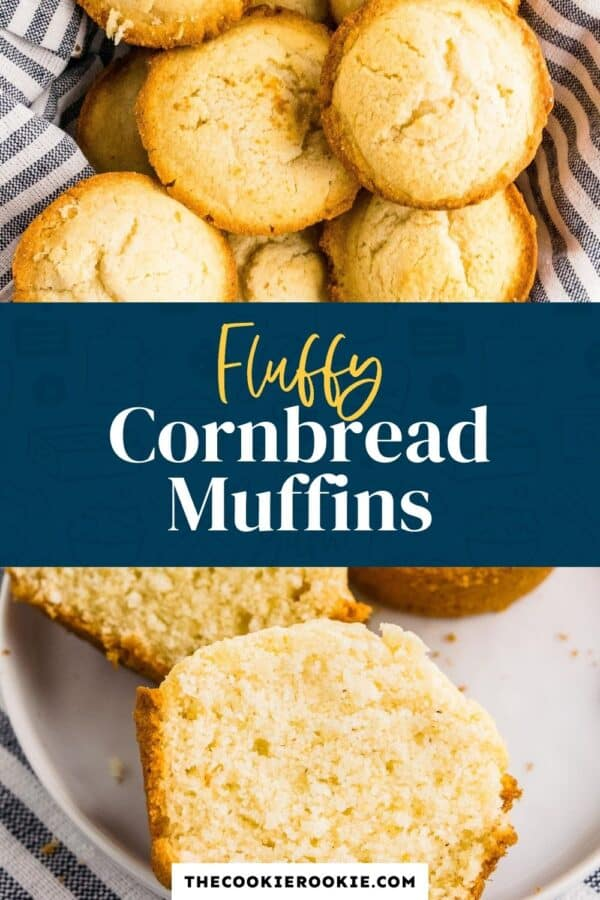 cornbread muffins pinterest