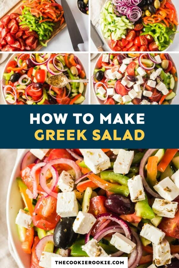greek salad pinterest