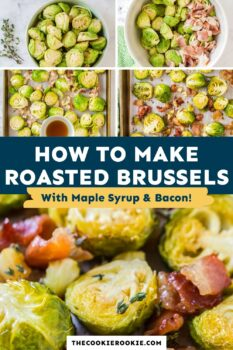 roasted brussels sprouts pinterest