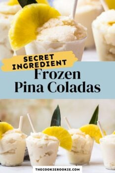 pina coladas pinterest collage