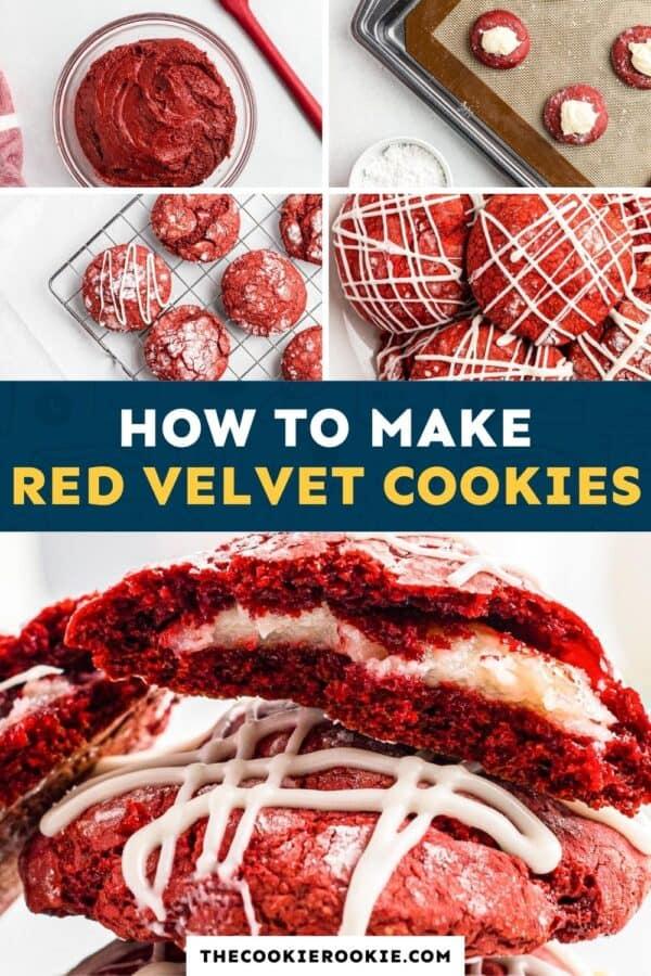 red velvet cookies pinterest