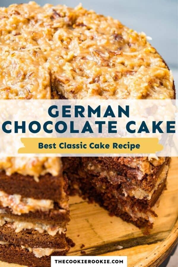 german chocolate cake pinterest