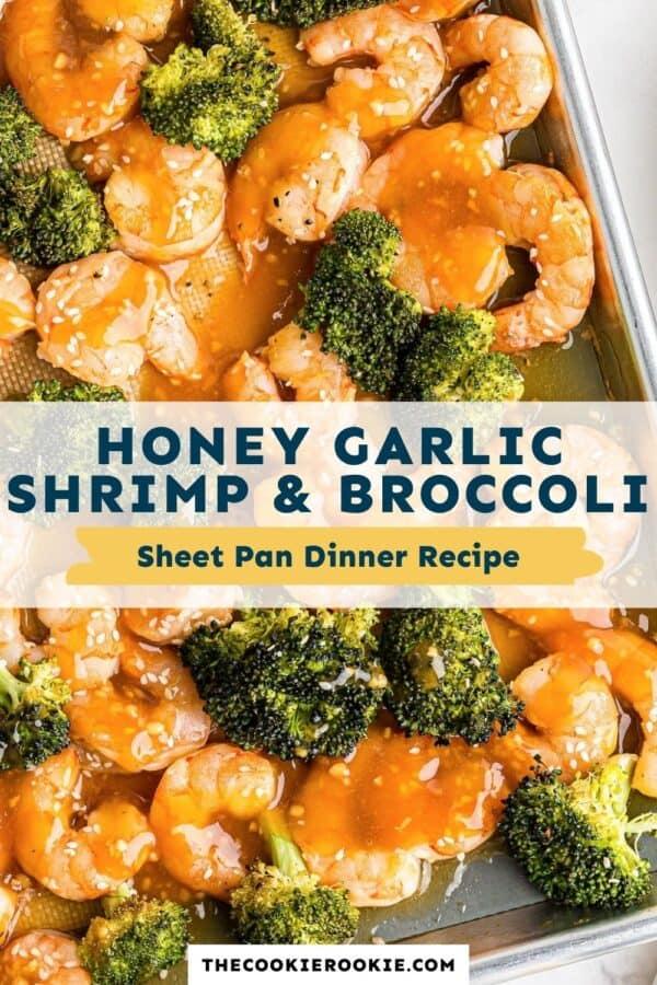 honey garlic shrimp and broccoli pinterest