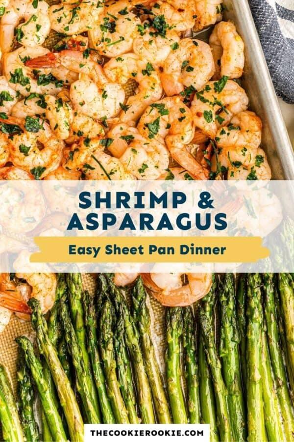 shrimp and asparagus pinterest