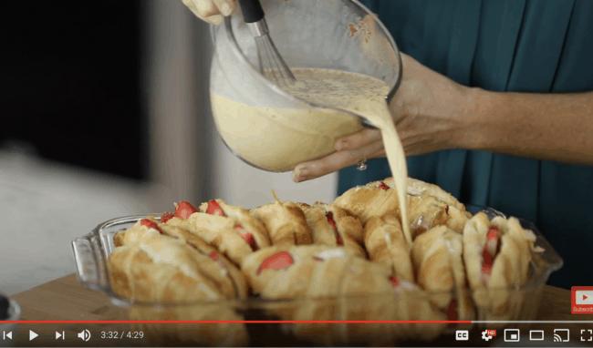 french toast casserole youtube image