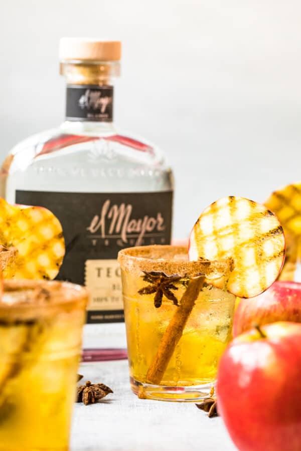 apple margaritas next to el mayor tequila