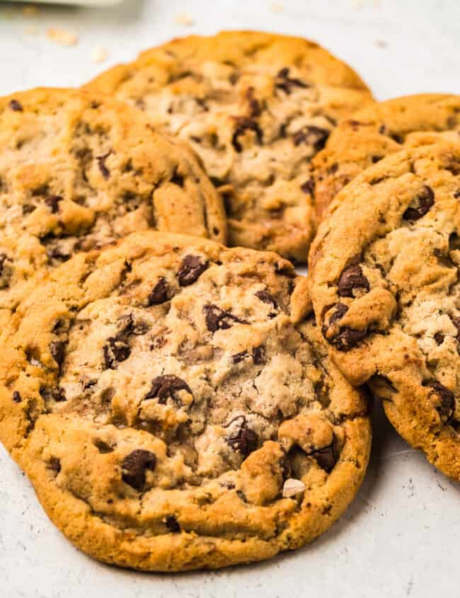 cookies on parchment