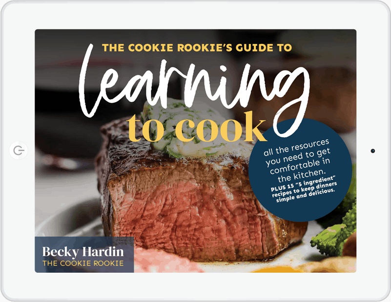 learn learning to cook ebook on ipad