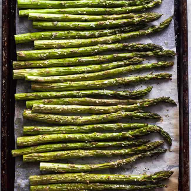 how to broil asparagus