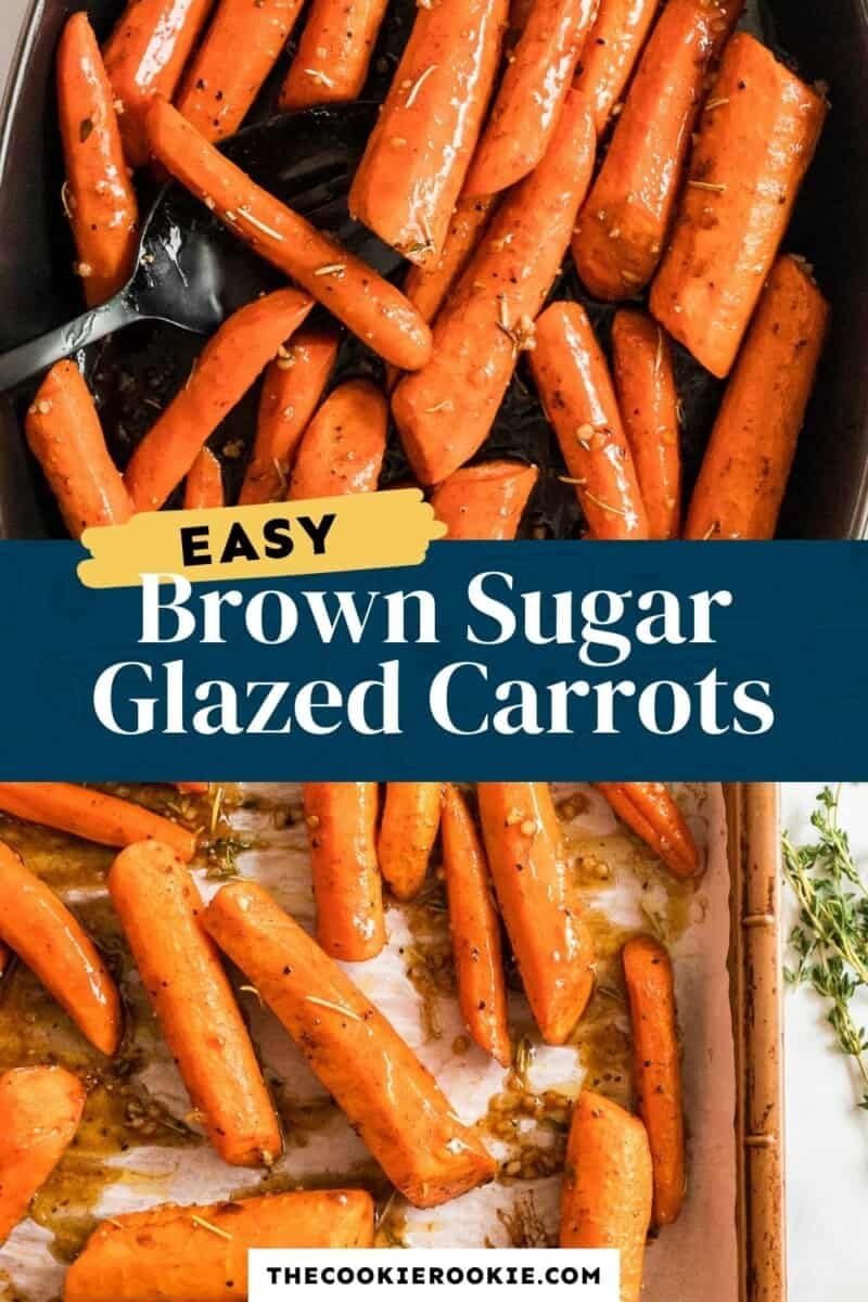 brown sugar glazed carrots pinterest