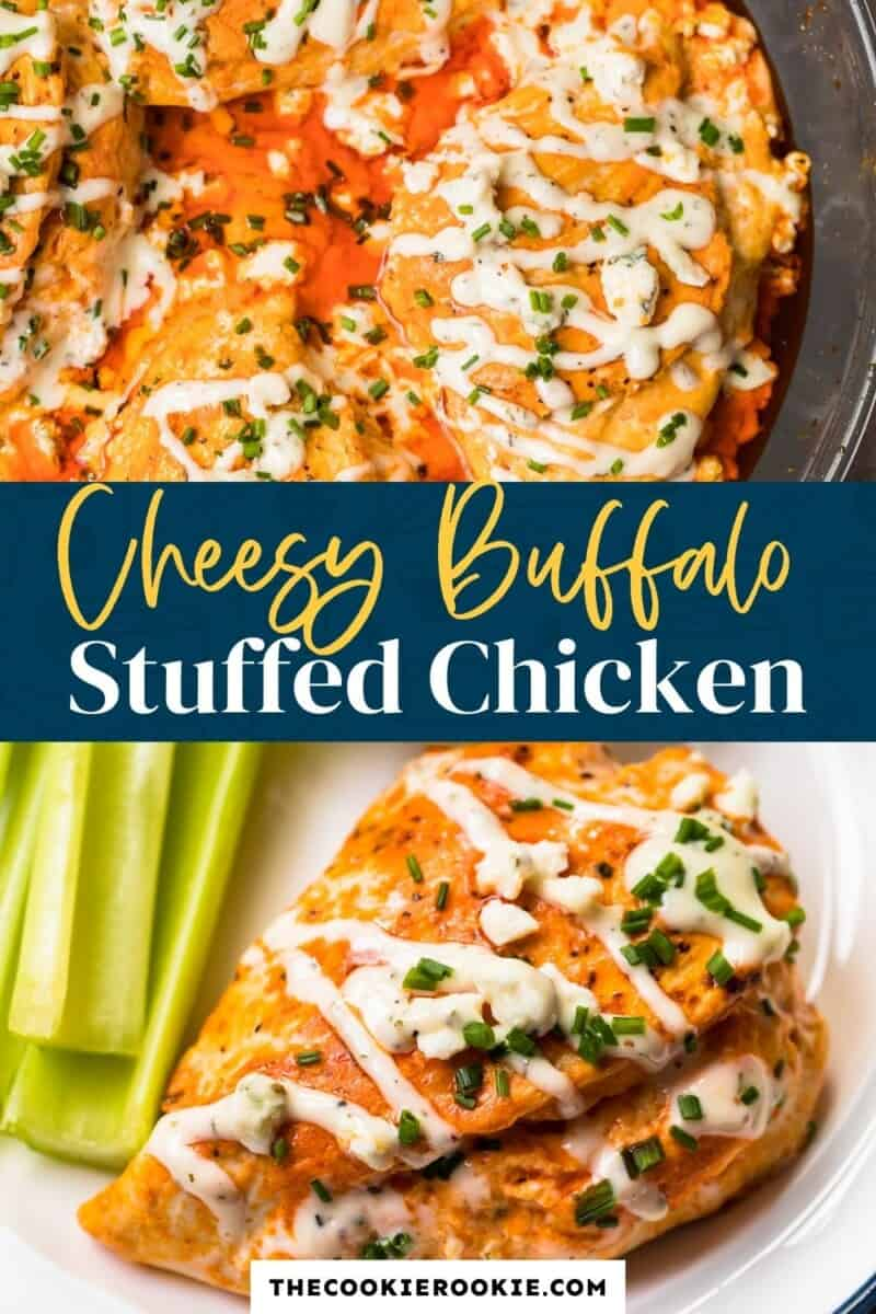 stuffed buffalo chicken pinterest
