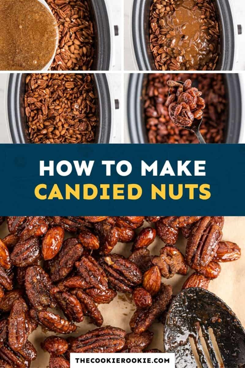 crockpot candied nuts pinterest