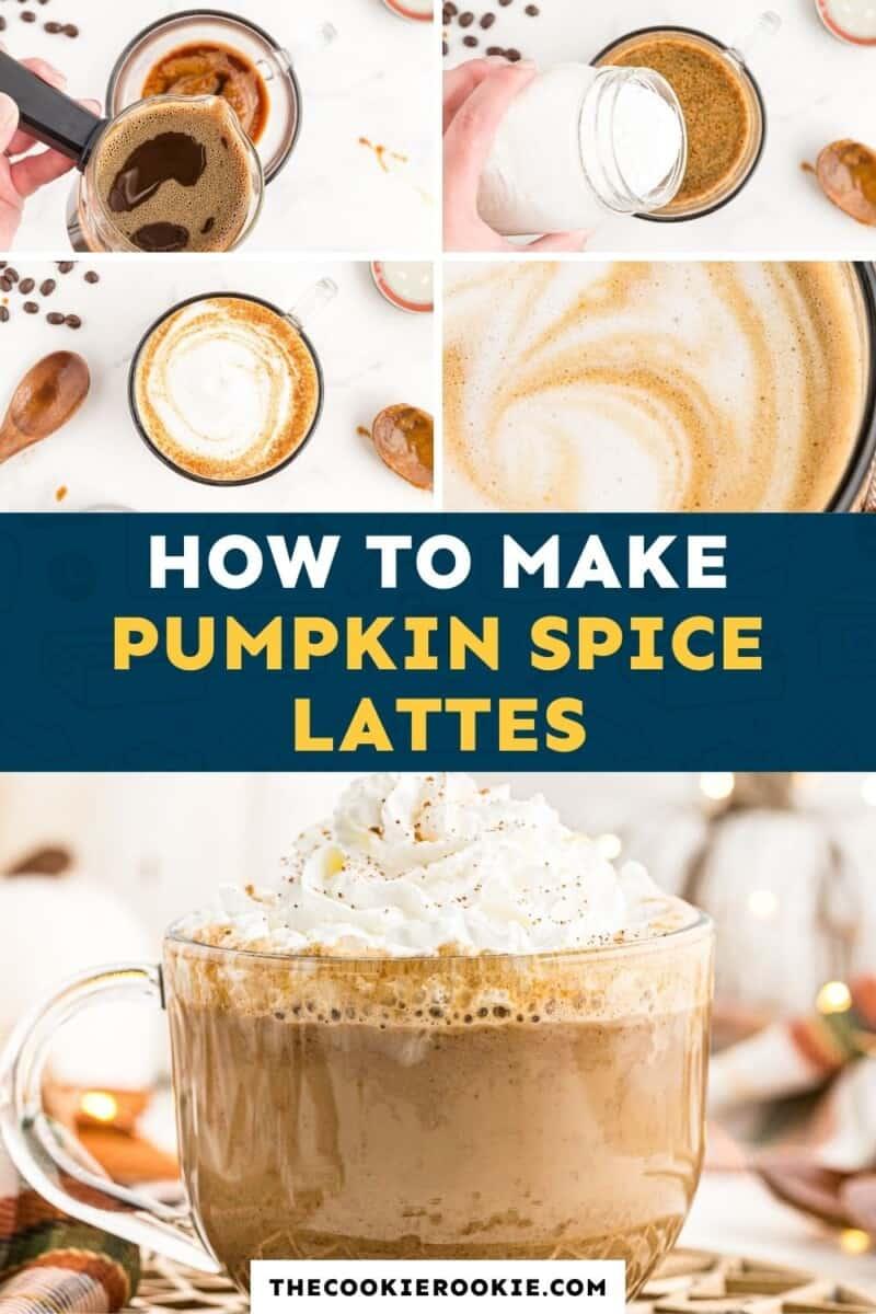 pumpkin spice latte pinterest