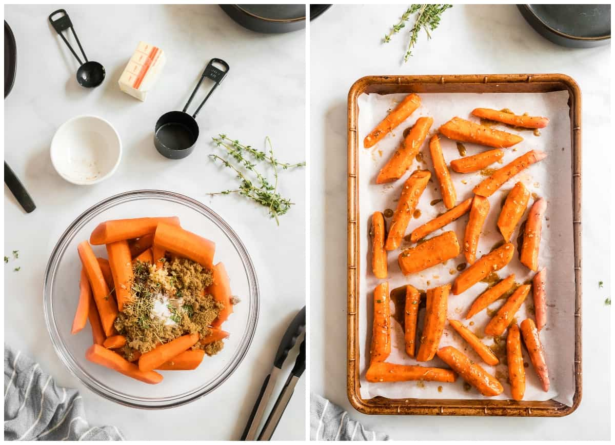 how to make brown sugar glazed carrots