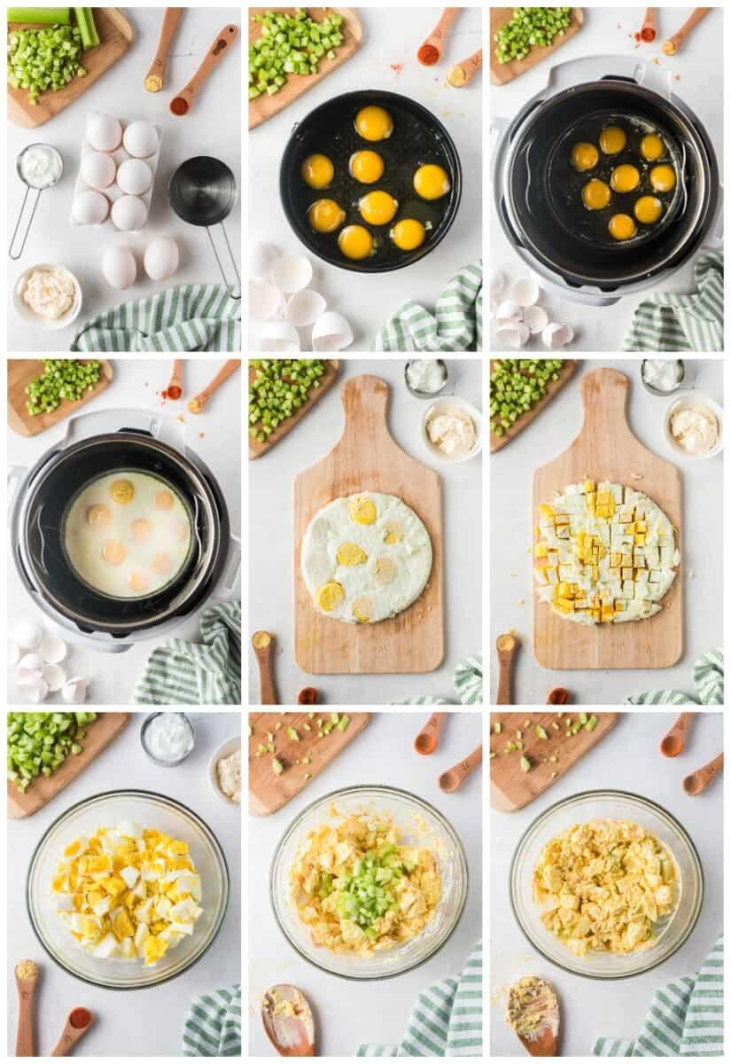 how to make instant pot egg salad