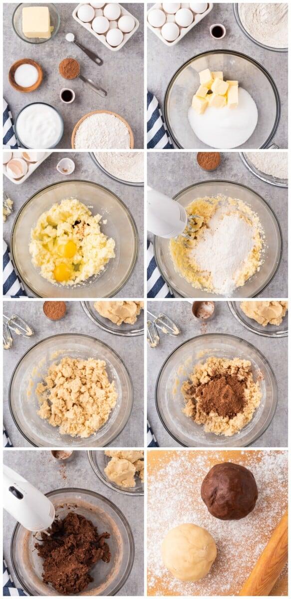 how to make pinwheel cookies 1