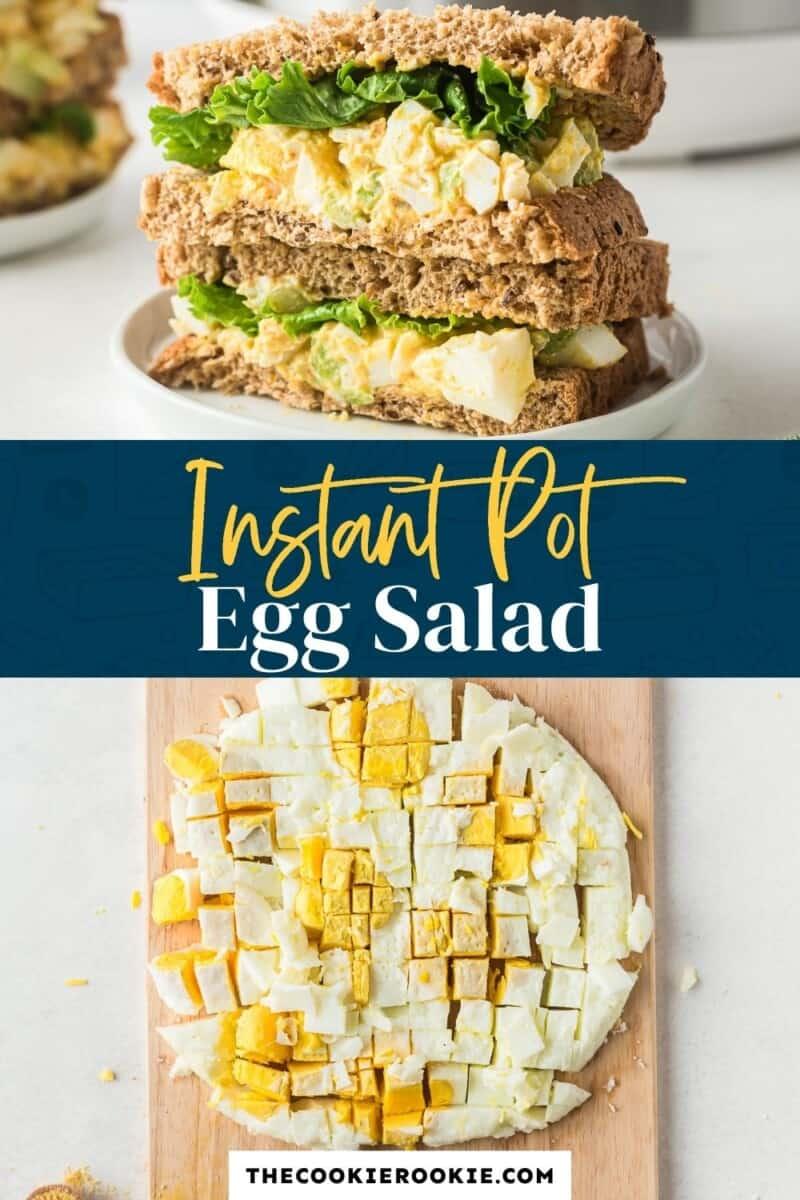 instant pot egg salad pinterest