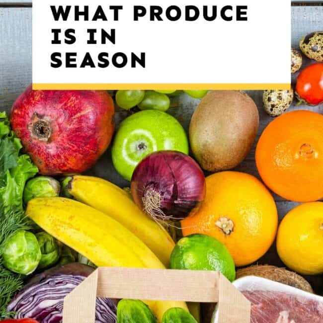 what produce is in season guide
