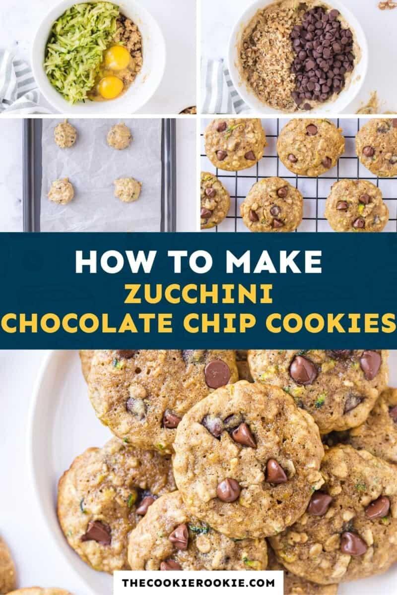 zucchini chocolate chip cookies pinterest
