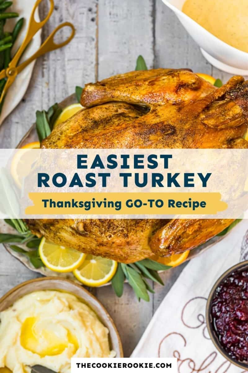 easy thanksgiving turkey pinterest collage