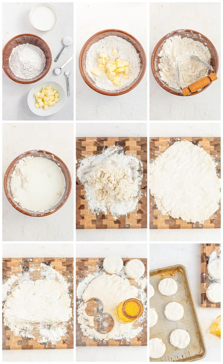 how to make gluten free biscuits