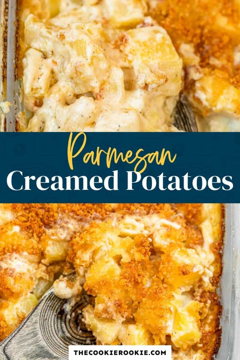 parmesan creamed potatoes pinterest