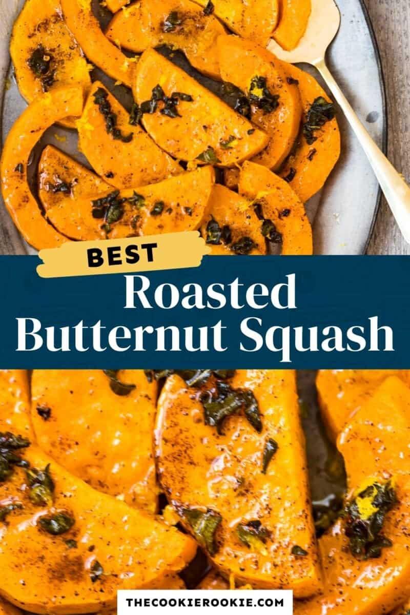roasted butternut squash pinterest