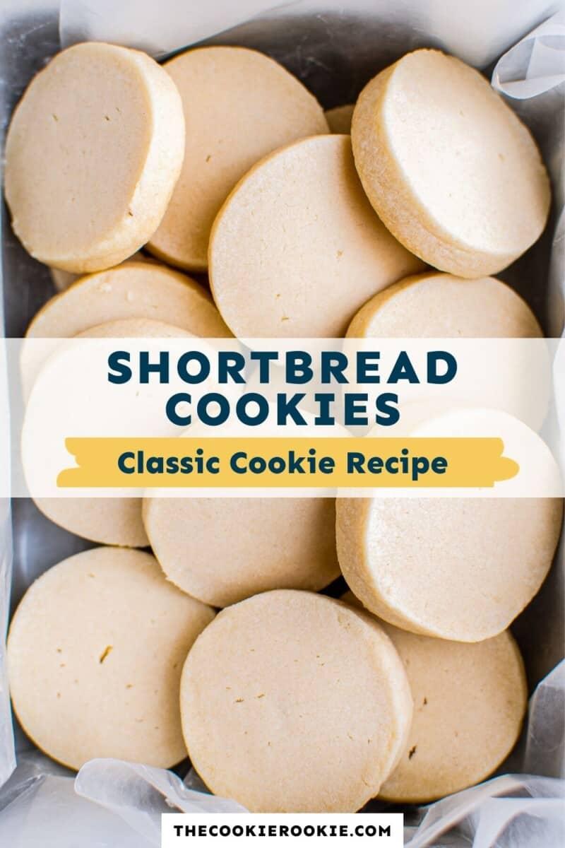 shortbread cookies pinterest
