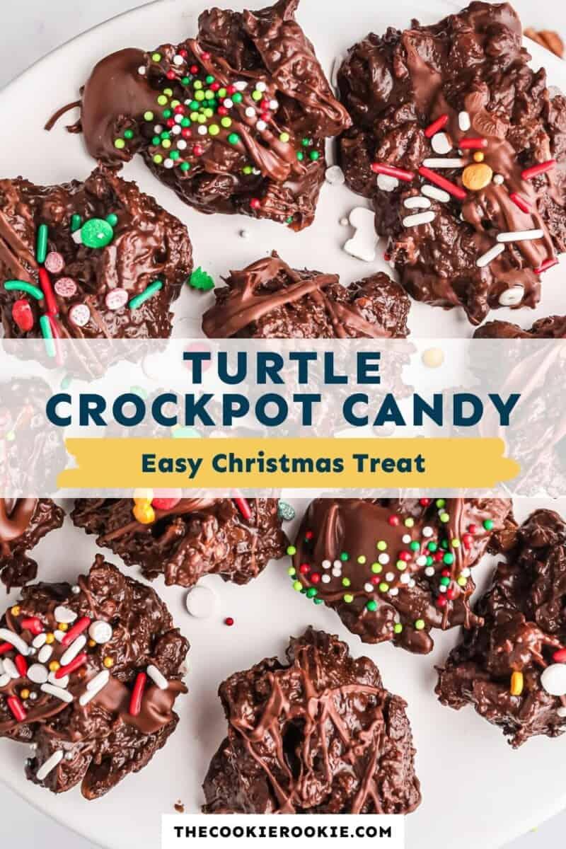 crockpot candy pinterest collage