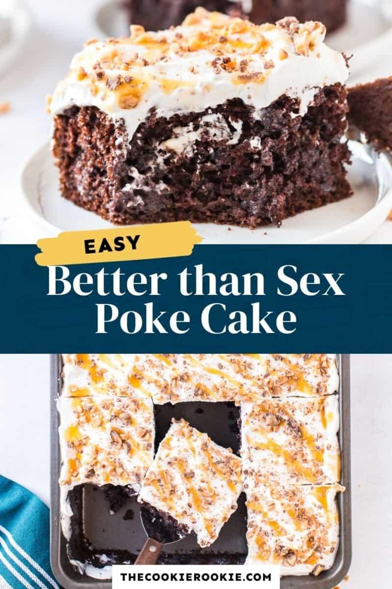 better than sex poke cake pinterest collage