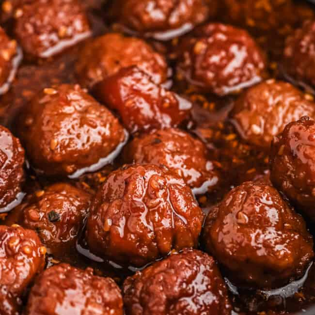 teriyaki meatballs in crockpot