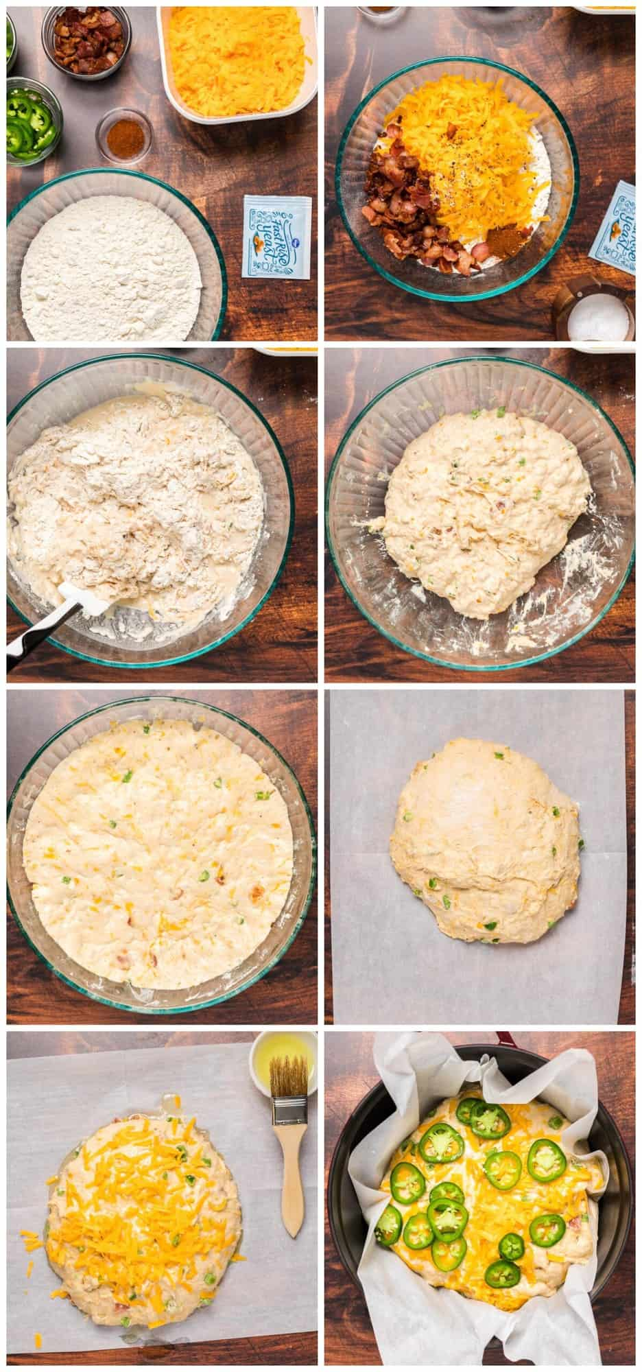 how to make dutch oven jalapeno bread